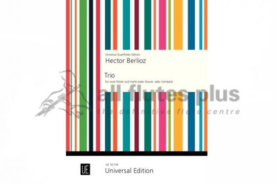 Berlioz Trio from L'Enfance du Christ Op 25-Two Flutes and Piano-Universal