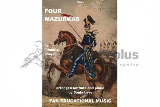 Chopin Four Mazurkas-Flute and Piano-Pan Educational Music