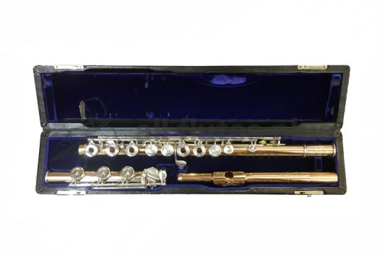 John Lunn Secondhand 14K Flute with Dana Sheridan 14k Headjoint-c8529