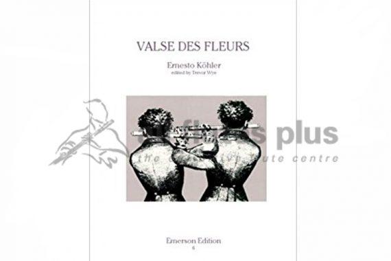 Kohler Valse des Fleurs Op87-Two Flutes and Piano-Emerson Edition