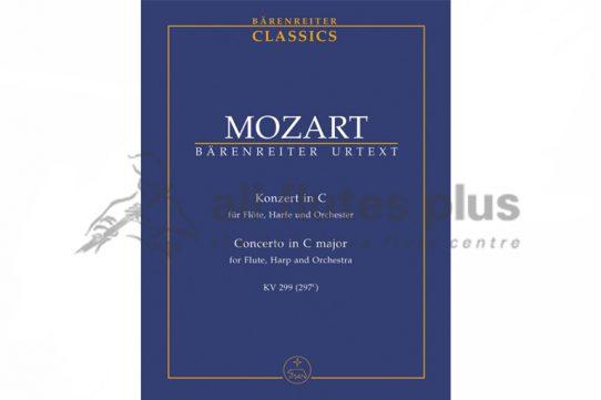Mozart Flute and Harp Concerto in C K299-Study Score-Barenreiter