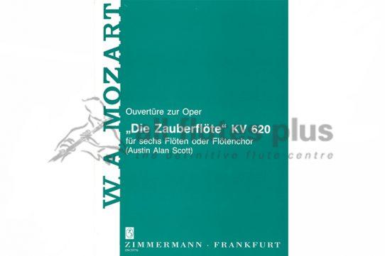 Mozart Magic Flute Overture-6 Flutes/Flute Choir-Zimmermann