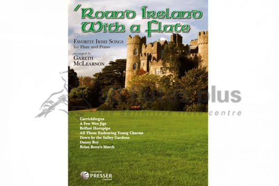 Round Ireland with a Flute-Flute and Piano-Arr by Gareth McLearnon-Theodore Presser