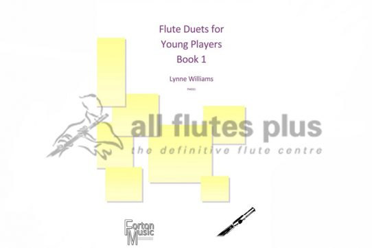 Flute Duets for Young Players Book 1-Two Flutes-Williams-Forton Music