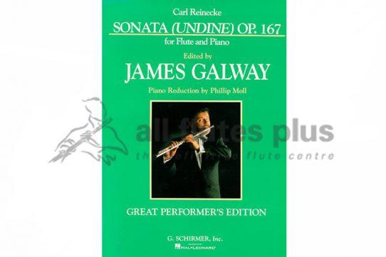 Reinecke Undine Sonata Op 167-Flute and Piano-Schirmer