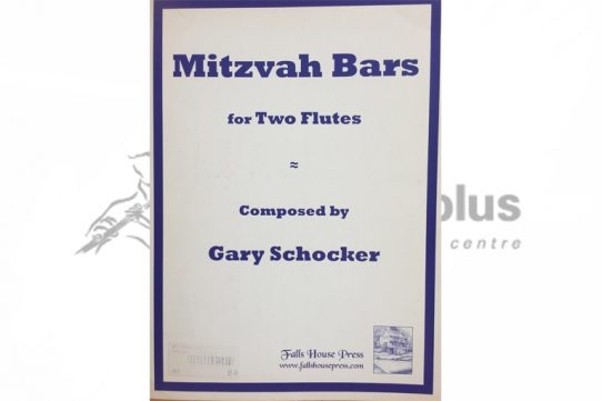 Schocker Mitzvah Bars-Two Flutes-Falls House Press