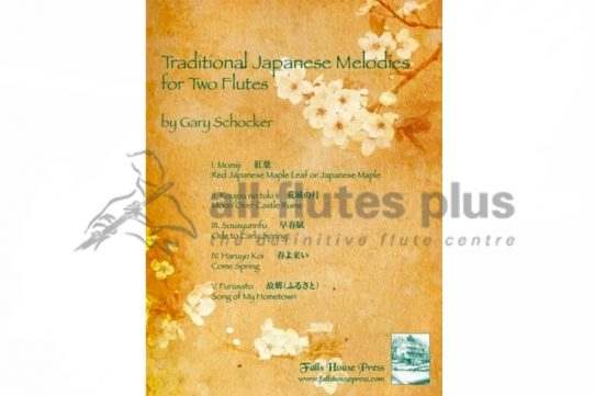 Schocker Traditional Japanese Melodies-Two Flutes-Falls House Press