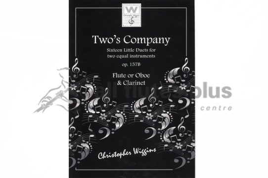Two's Company-Sixteen Little Duets-Two Flutes-Wiggins