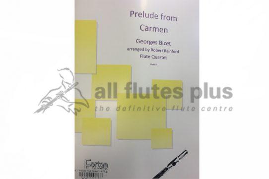 Bizet Prelude from Carmen-Flute Quartet-Forton Music