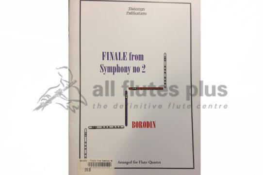 Borodin Finale from Symphony No 2-Flute Quartet-Flutesteps Publications