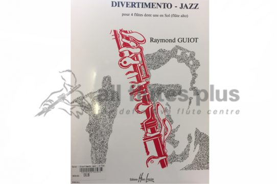 Guiot Divertimento-Jazz-4 Flutes-Lemoine