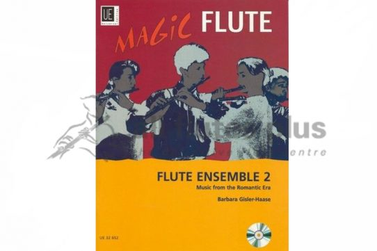 Magic Flute-Flute Ensemble 2-3-5 flutes and cd-Universal