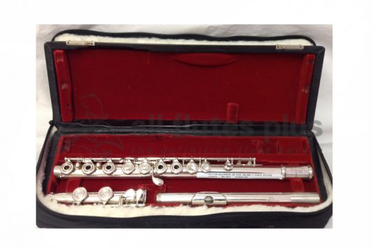 Oston-Brannen Secondhand Silver Inline Flute-c8251