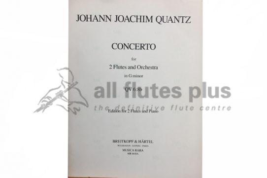 Quantz Concerto G Minor QV 6:8b-2 Flutes and Piano-BreitkopfQuantz Concerto G Minor QV 6:8b-2 Flutes and Piano-Breitkopf