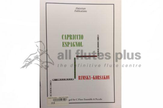 Rimsky Korsakov Capriccio Espagnol-Flute Quartet-Flutesteps Publications
