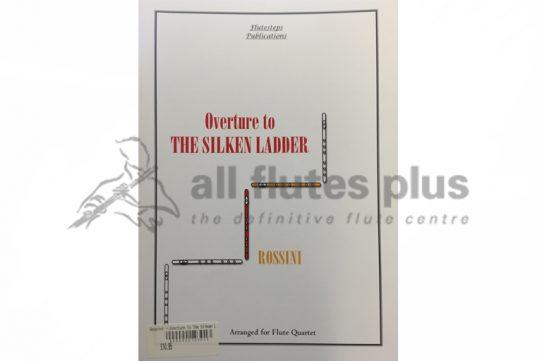 Rossini Overture to the Silken Ladder-Flute Quartet-Flutesteps Publications