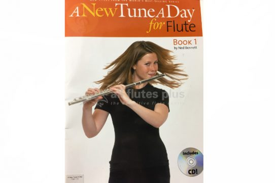 A New Tune A Day for Flute Book 1 with CD-Ned Bennett