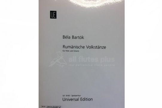 Bartok Romanian Folk Dances-Flute and Guitar-Universal
