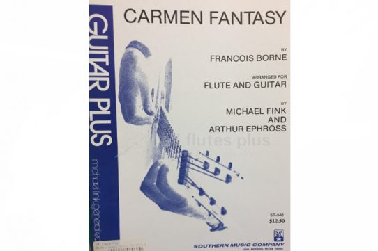 Borne Carmen Fantasy-Flute and Guitar-Southern Music Company