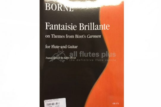 Borne Fantaisie Brillante-Flute and Guitar-Ut Orpheus Edizioni