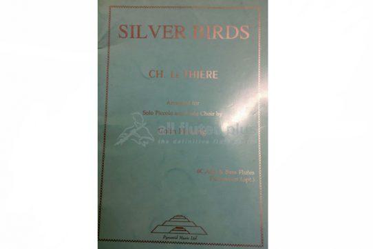 CH Le Thiere-Silver Birds-Solo Piccolo and Flute Choir-Pyramid Music