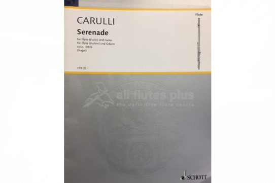 Carulli Serenade-Flute and Guitar-Schott