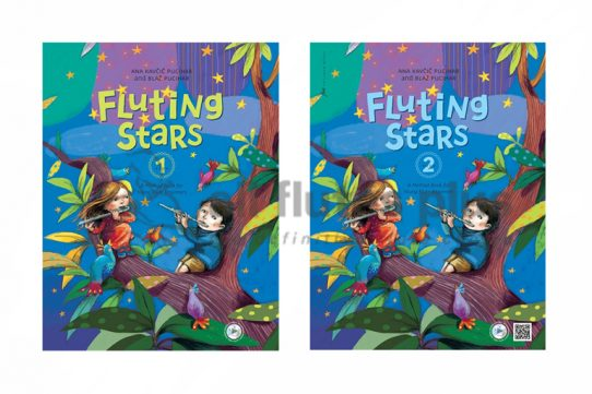 Fluting Stars-Flute Method Book For Young Beginners-Pucihar