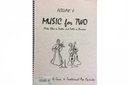 Music For Two Volume 4-Waltzes, Fiddle Tunes and Traditional Favourites-Last Resort