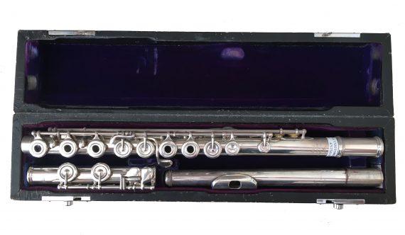 Powell Custom Handmade Secondhand Flute-c8408