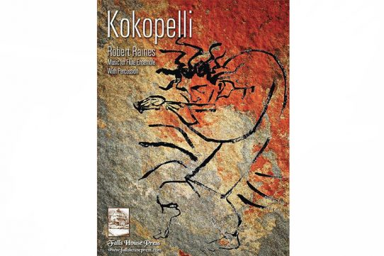 Raines Kokopelli for Flute Ensemble and Percussion-Falls House Press