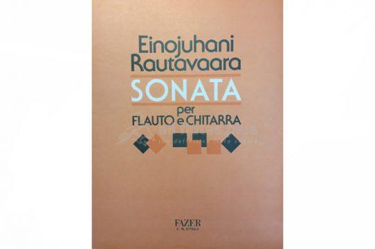 Rautavaara Sonata-Flute and Guitar-Fazer