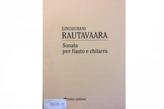 Rautavaara Sonata-Flute and Guitar-Fennica GehrmanRautavaara Sonata-Flute and Guitar-Fennica Gehrman