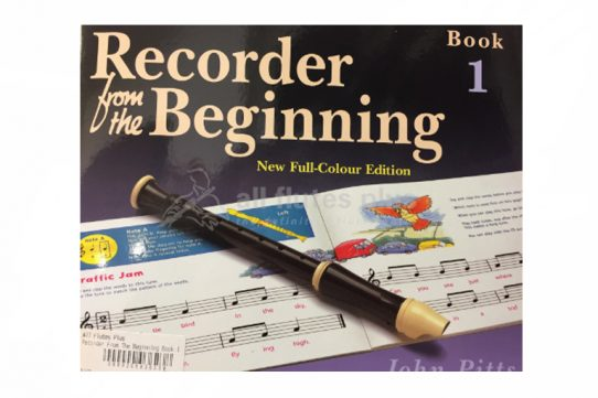 Recorder From The Beginning Book 1-John Pitts-EJA Publications