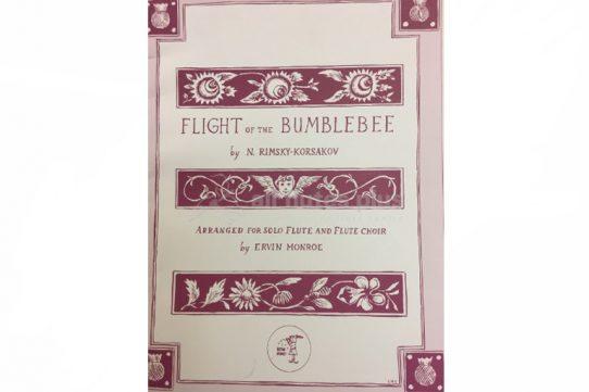 Rimsky Korsakov Flight of the Bumblebee-Solo Flute and Flute Choir-Little Piper