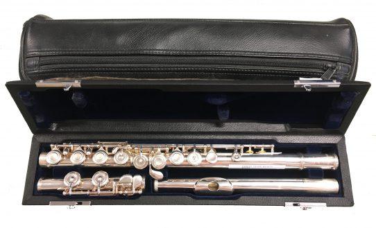 Sankyo 201RE Secondhand Flute-c8269