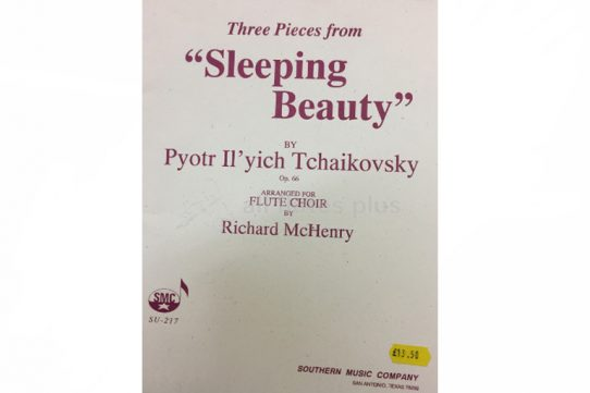 Tchaikovsky Three Pieces from Sleeping Beauty-Flute Choir-Southern Music Company