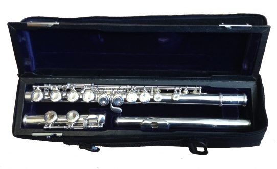 Trevor James Virtuoso Secondhand Flute-c8266