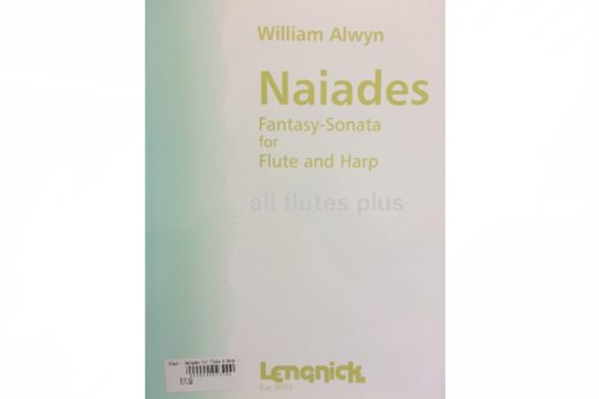 Alwyn Naiades Fantasy Sonata-Flute and Harp-Lengnick