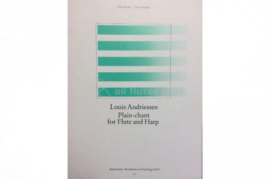 Andriessen Plain-Chant-Flute and Harp-Broekmans en Van Poppel
