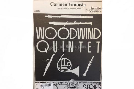 Bizet Carmen Fantasia-Wind Quintet-Holcombe Arrangement