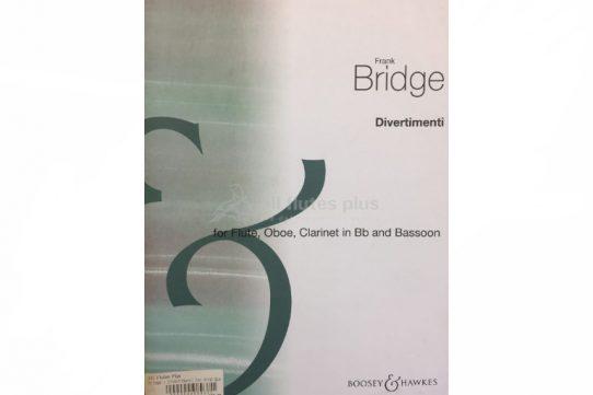 Bridge Divertimenti-Wind Quartet-Boosey and Hawkes