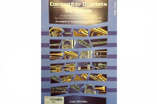 Compatible Quartets for Winds-Wind Quartet-Carl Fischer