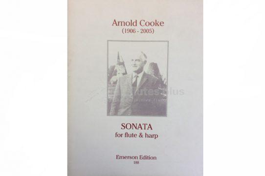 Cooke Sonata-Flute and Harp-Emerson Edition