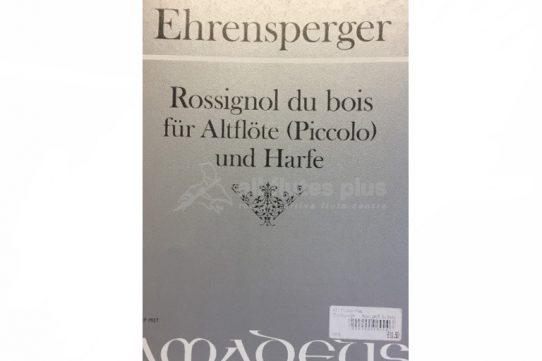 Ehrensperger Rossingnol du Bois-Alto Flute (Piccolo) and Harp-Amadeus