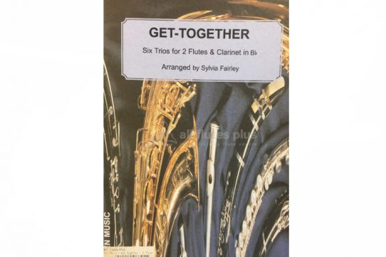 Fairley Get-Together-Six Trios for 2 Flutes and Clarinet in Bb