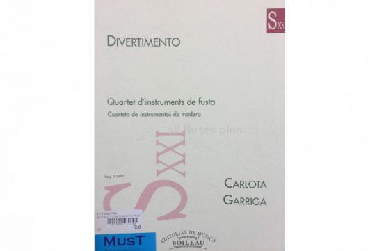 Garriga Divertimento-Wind Quartet-MusT
