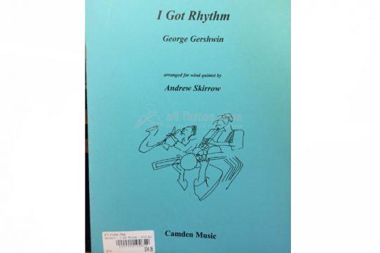 Gershwin I Got Rhythm-Wind Quintet-Camden Music