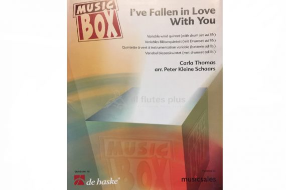 I've fallen in love with you-Variable Wind Quintet with drum set ad lib-Music Box-De Haske