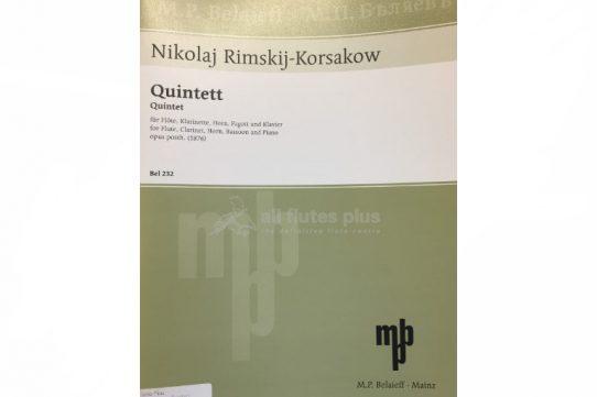 Rimsky Korsakov Quintet-Wind Quintet-MPB