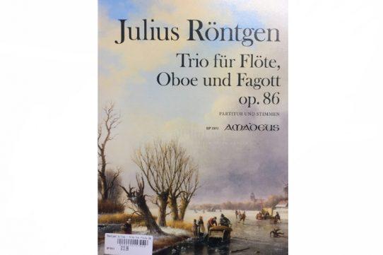 Rontgen Trio Op 86-Flute, Oboe and Bassoon-Amadeus